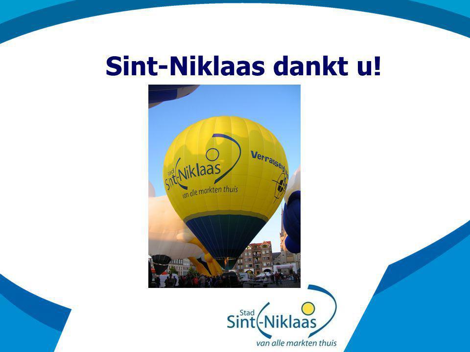 Sint-Niklaas dankt u!