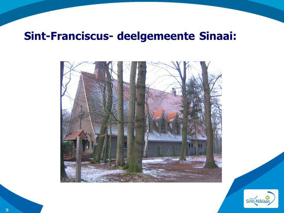 Sint-Franciscus- deelgemeente Sinaai: nu gemengde functie: kerk 6