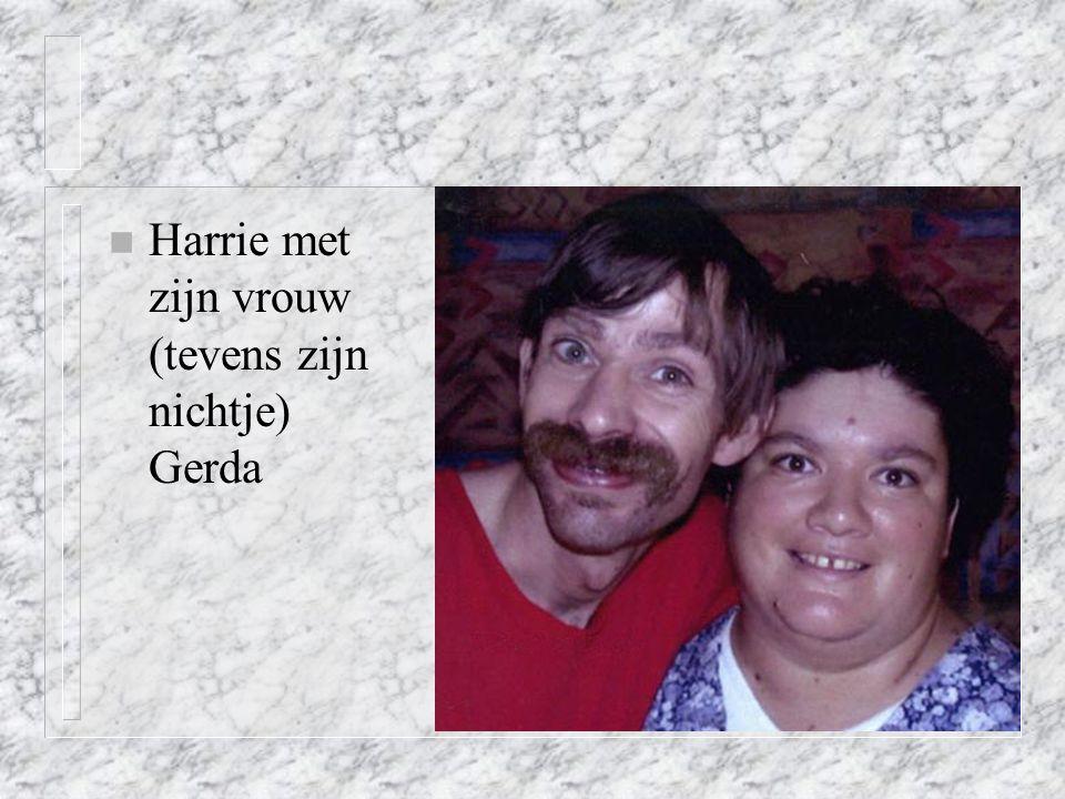 n Harrie met zijn vrouw (tevens zijn nichtje) Gerda