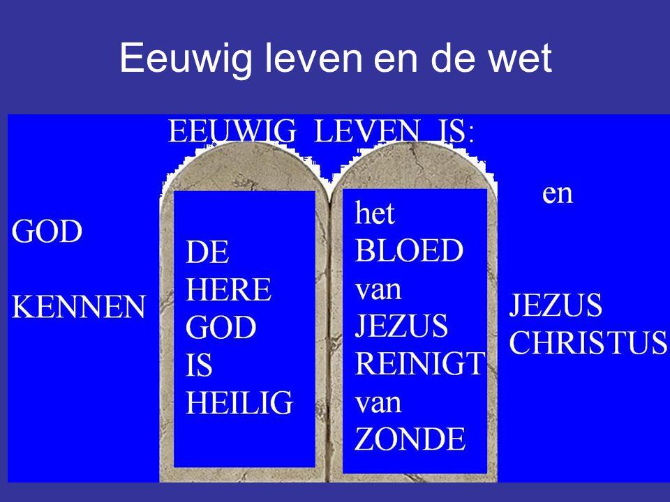 11 Eeuwig leven en de wet