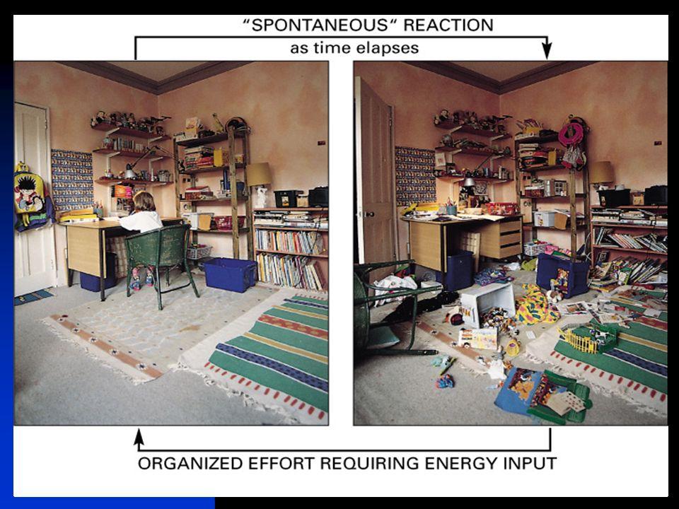 keerpunten 4-04 #51 het begrip 'waarschijnlijkheid van een toestand'  basis begrip de kans dat een systeem spontaan geordend wordt is extreem klein 