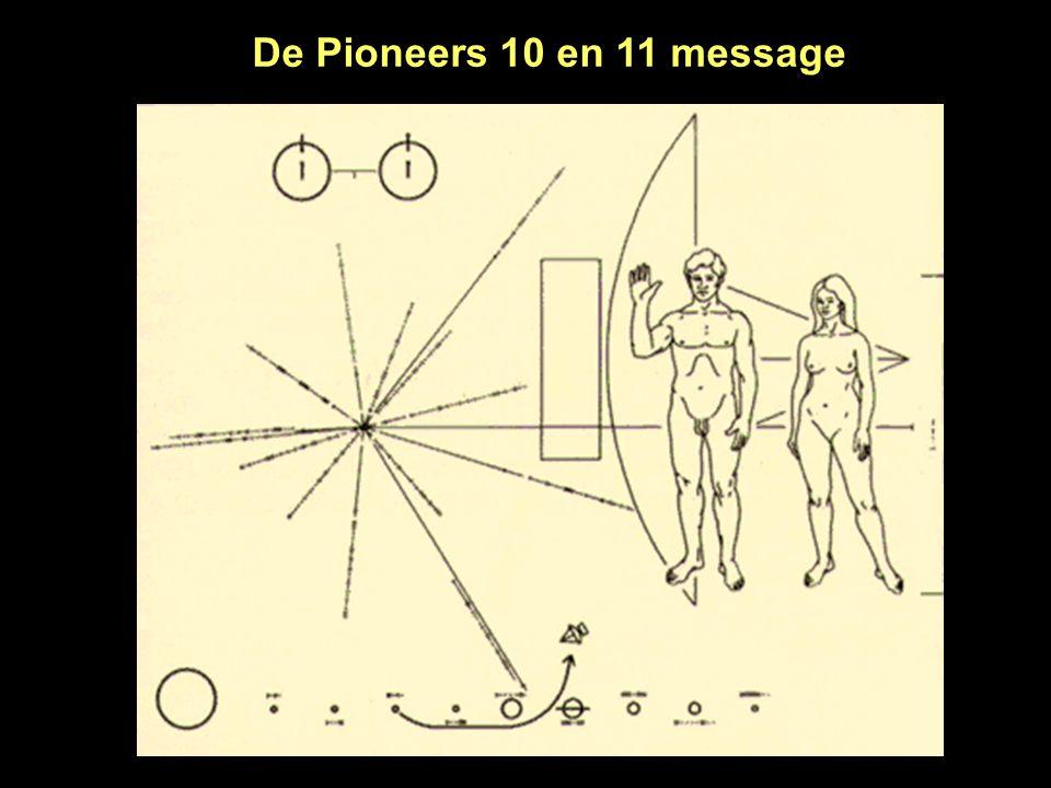 De Pioneers 10 en 11 message