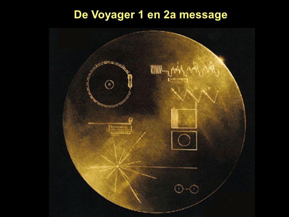 De Voyager 1 en 2a message