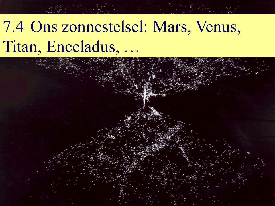 7.4Ons zonnestelsel: Mars, Venus, Titan, Enceladus, …