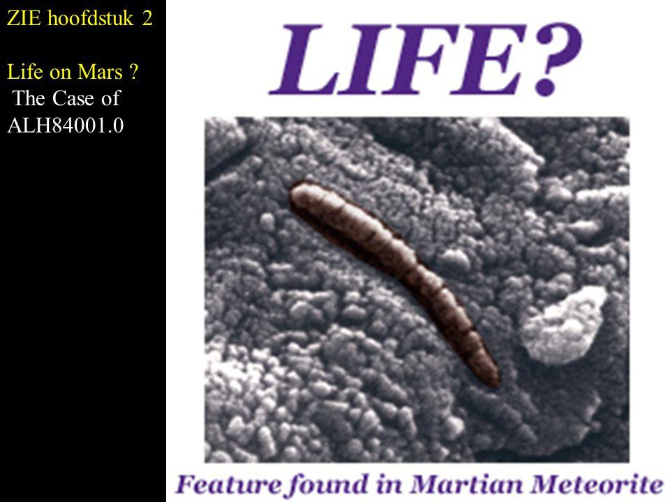 ZIE hoofdstuk 2 Life on Mars The Case of ALH84001.0