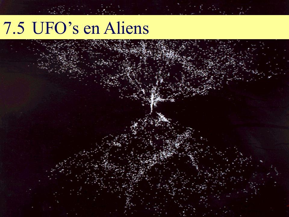 7.5UFO's en Aliens