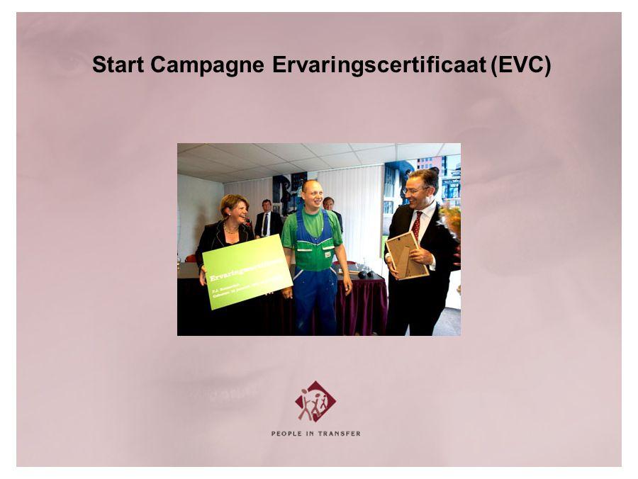 Start Campagne Ervaringscertificaat (EVC)