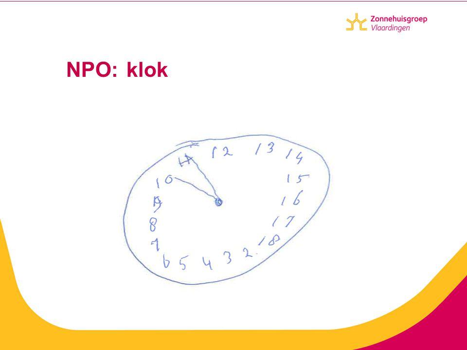 NPO: klok
