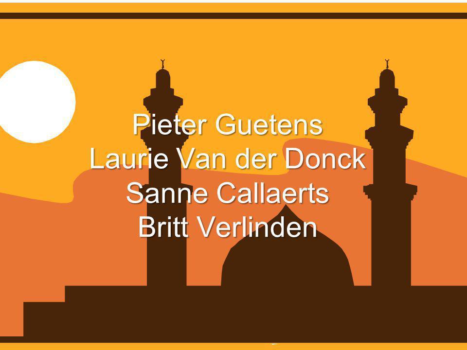 Pieter Guetens Laurie Van der Donck Sanne Callaerts Britt Verlinden