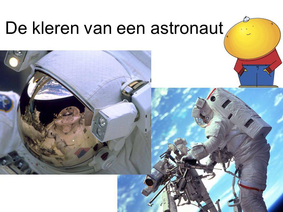 De kleren van een astronaut