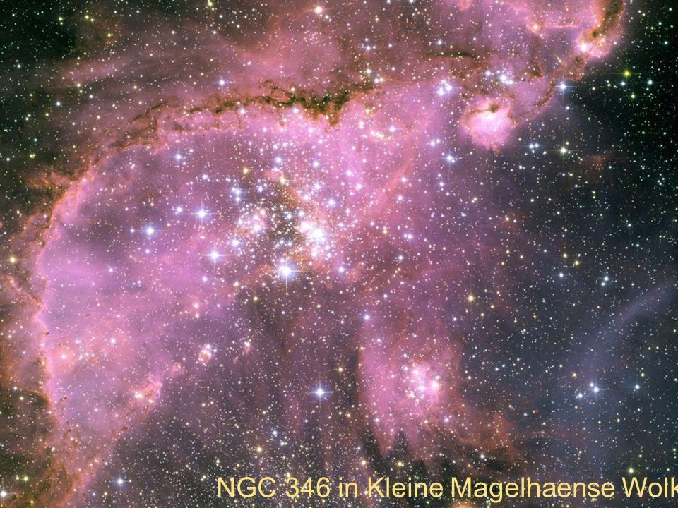 NGC 346 in Kleine Magelhaense Wolk