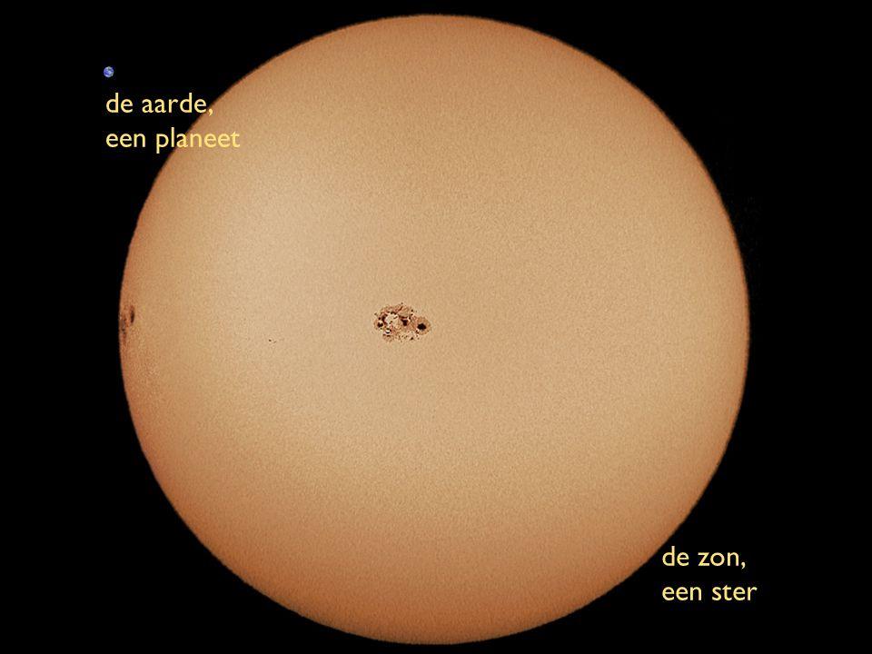 de aarde, een planeet de zon, een ster