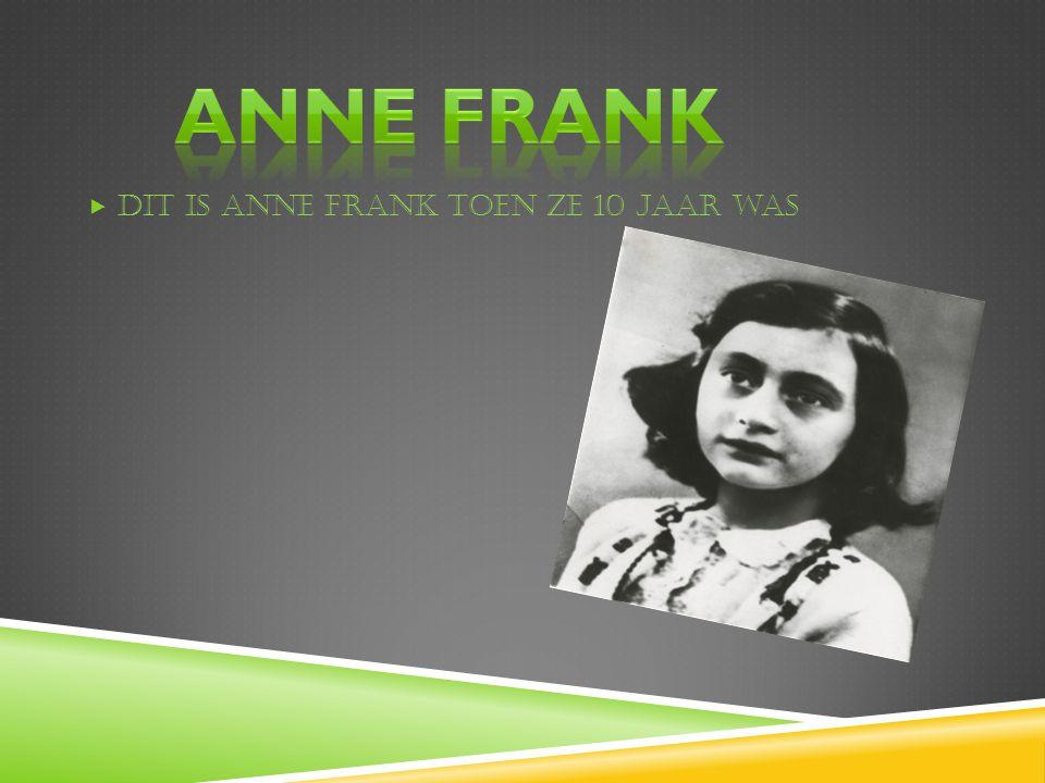  Anne Frank  Het dagboek  Leven in Duitsland  Joodse mensen  Hanneli  Weg uit Nederland  De familie van Anne Frank