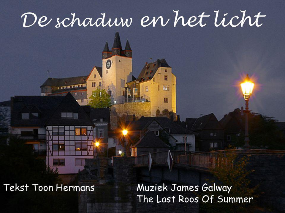 De schaduw en het licht Tekst Toon HermansMuziek James Galway The Last Roos Of Summer
