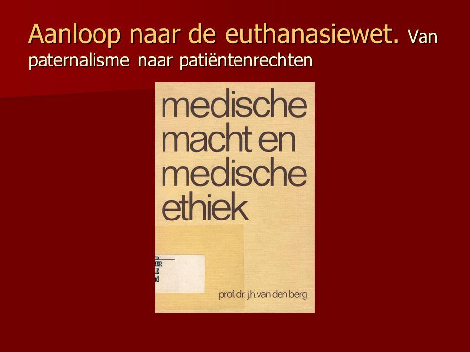 3 tijdsvakken in geneeskunde: 1) Van Oertijd tot 1870: medisch-technische onmacht Hippocratische Eed 2) Van 1870 tot 1960: van technische onmacht naar technische macht