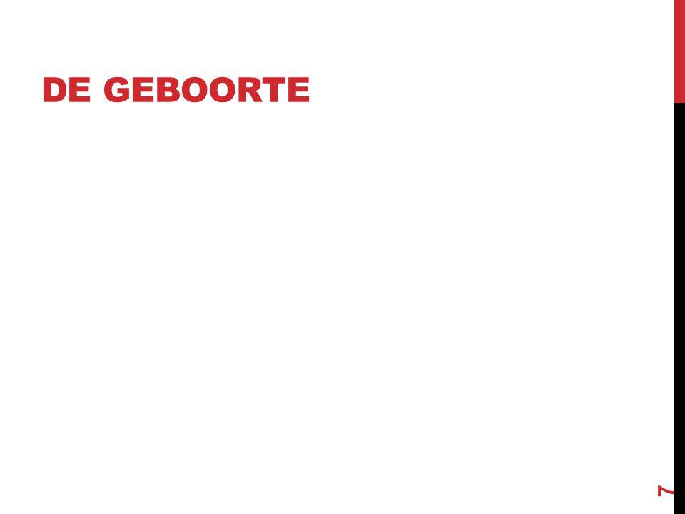 VORMEN VAN BEVALLEN Zachte bevalling (Leboyer) Thuisbevalling Epidurale Keizersnede (gepland – acuut) Zittend Onderwater 8