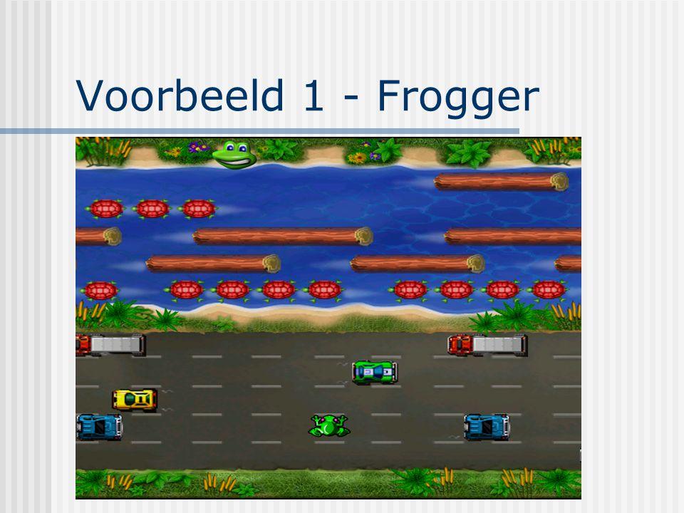 Voorbeeld 1 - Frogger