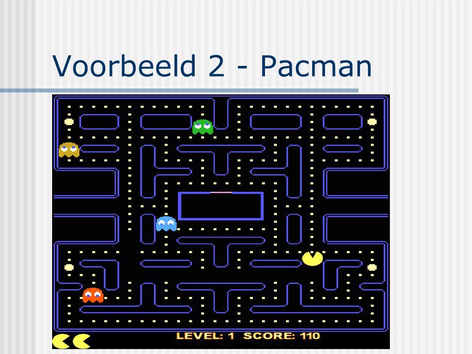 Voorbeeld 2 - Pacman