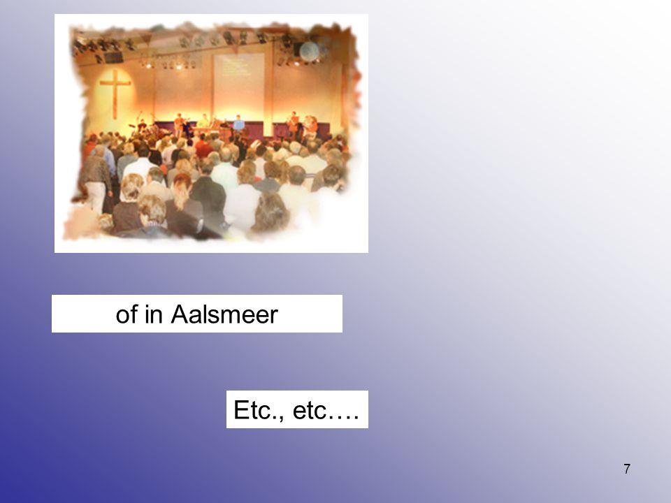 7 of in Aalsmeer Etc., etc….