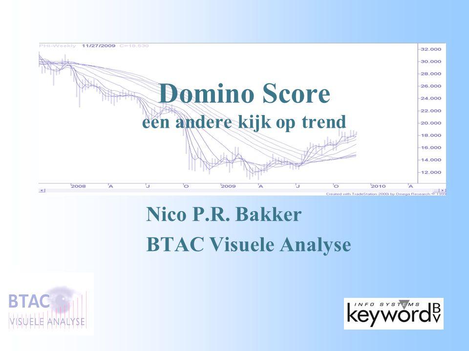 Domino Score een andere kijk op trend Nico P.R. Bakker BTAC Visuele Analyse
