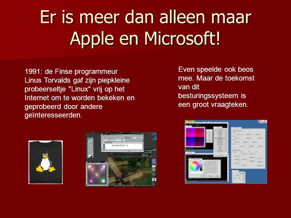 Er is meer dan alleen maar Apple en Microsoft.