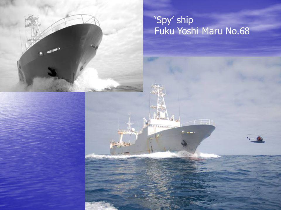 'Spy' ship Fuku Yoshi Maru No.68