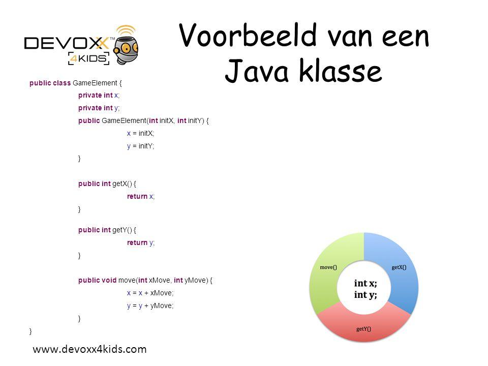 www.devoxx4kids.com Toon de spelrand