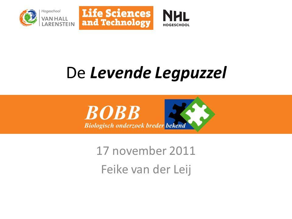 De Levende Legpuzzel 17 november 2011 Feike van der Leij