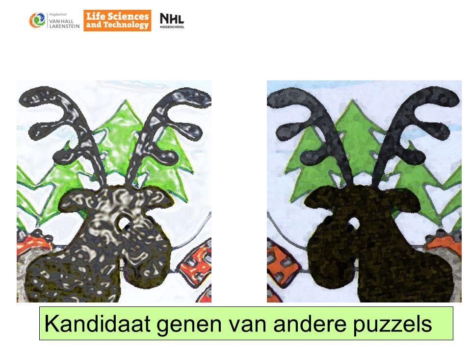 Kandidaat genen van andere puzzels