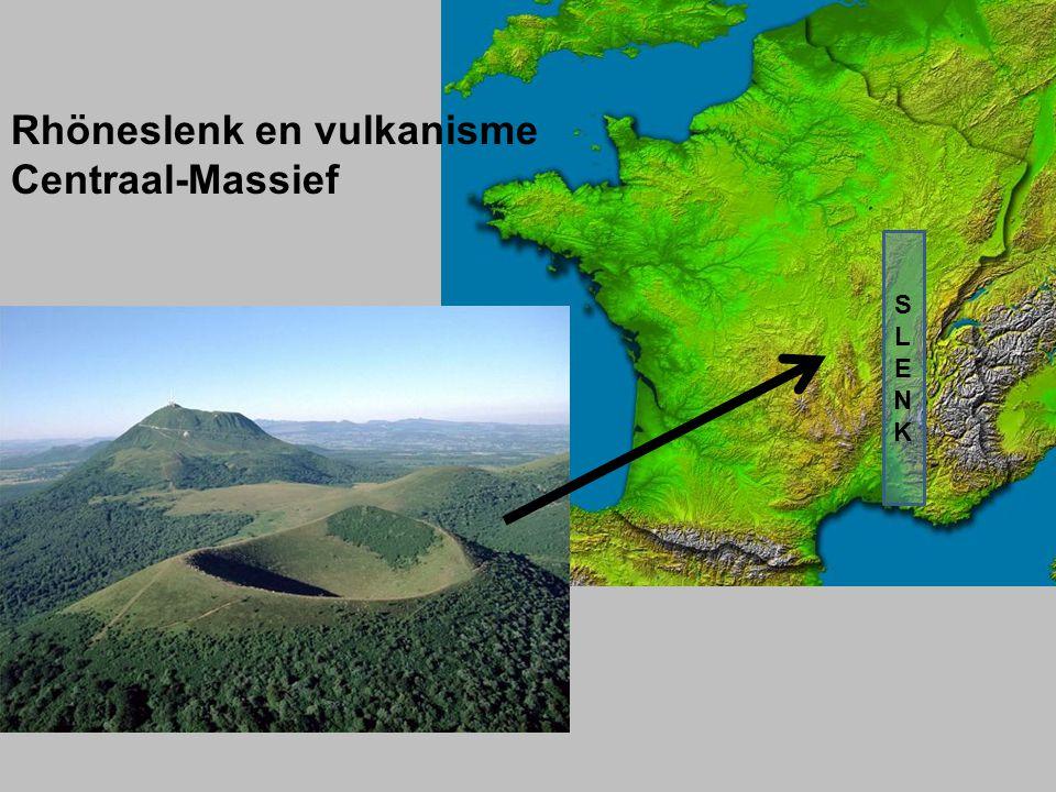 HOOFDTYPES Schildvulkanen Kegelvulkanen of stratovulkanen -Brede vulkaan, zachte helling -Vloeibare lava -Rustige uitvloeiing -Langs oceanische ruggen -Kegelvorm, steile helling -Taaiere lava -Explosieve vulkaan -Uitwerpen vulkanisch materiaal -Bij botsende plaatranden
