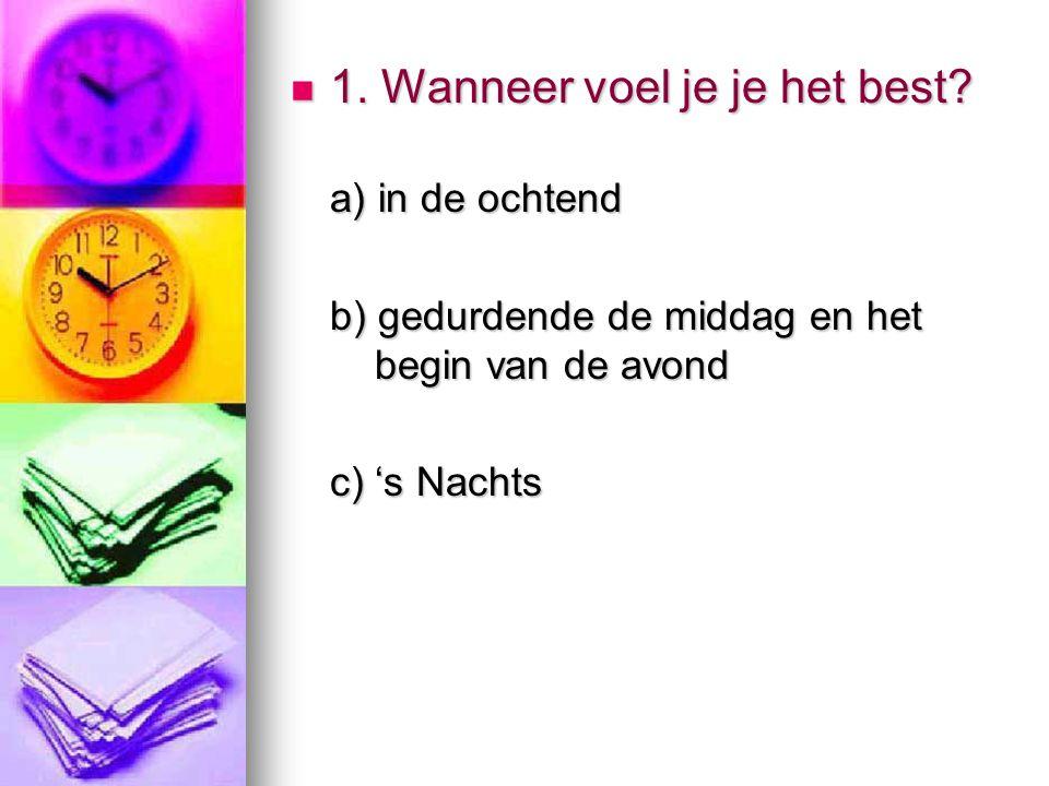 vervolg..6. (a) 6 (b) 4 (c) 2 7. (a) 6 (b) 2 (c) 4 8.