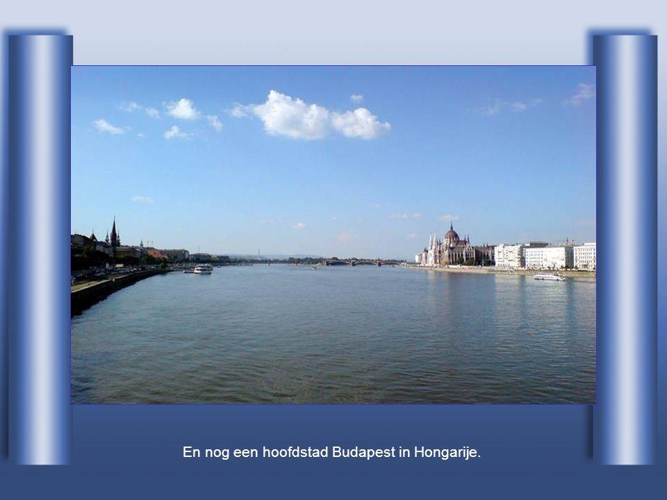 De volgende hoofdstad is Bratislava in Slovakije.