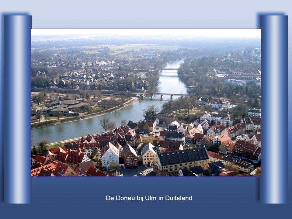 Het beschermd gebied van de Donaudelta...