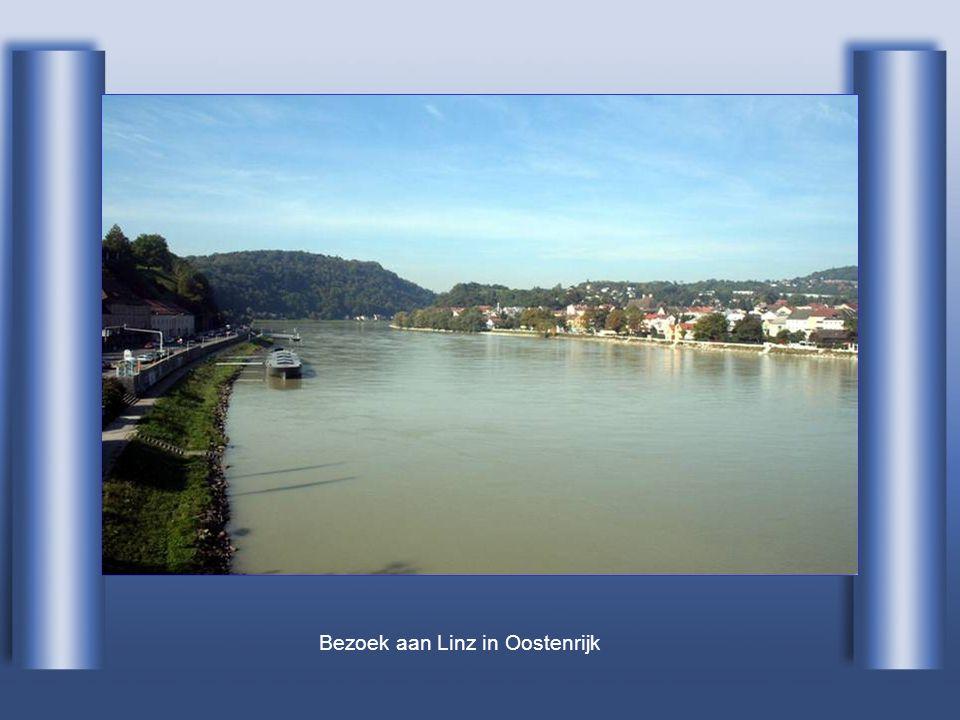 Bij het verlaten van Duisland in Passau