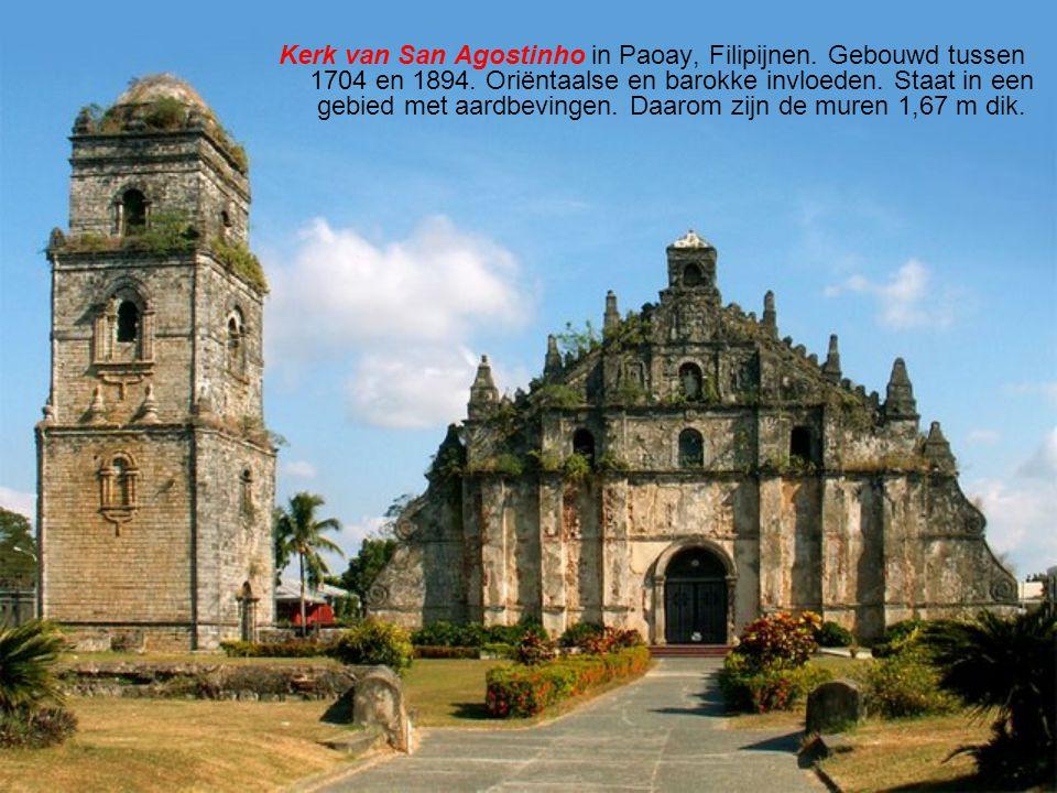 Kerk van San Agostinho in Paoay, Filipijnen.Gebouwd tussen 1704 en 1894.