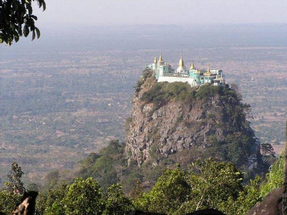 Uitzicht vanaf het klooster.