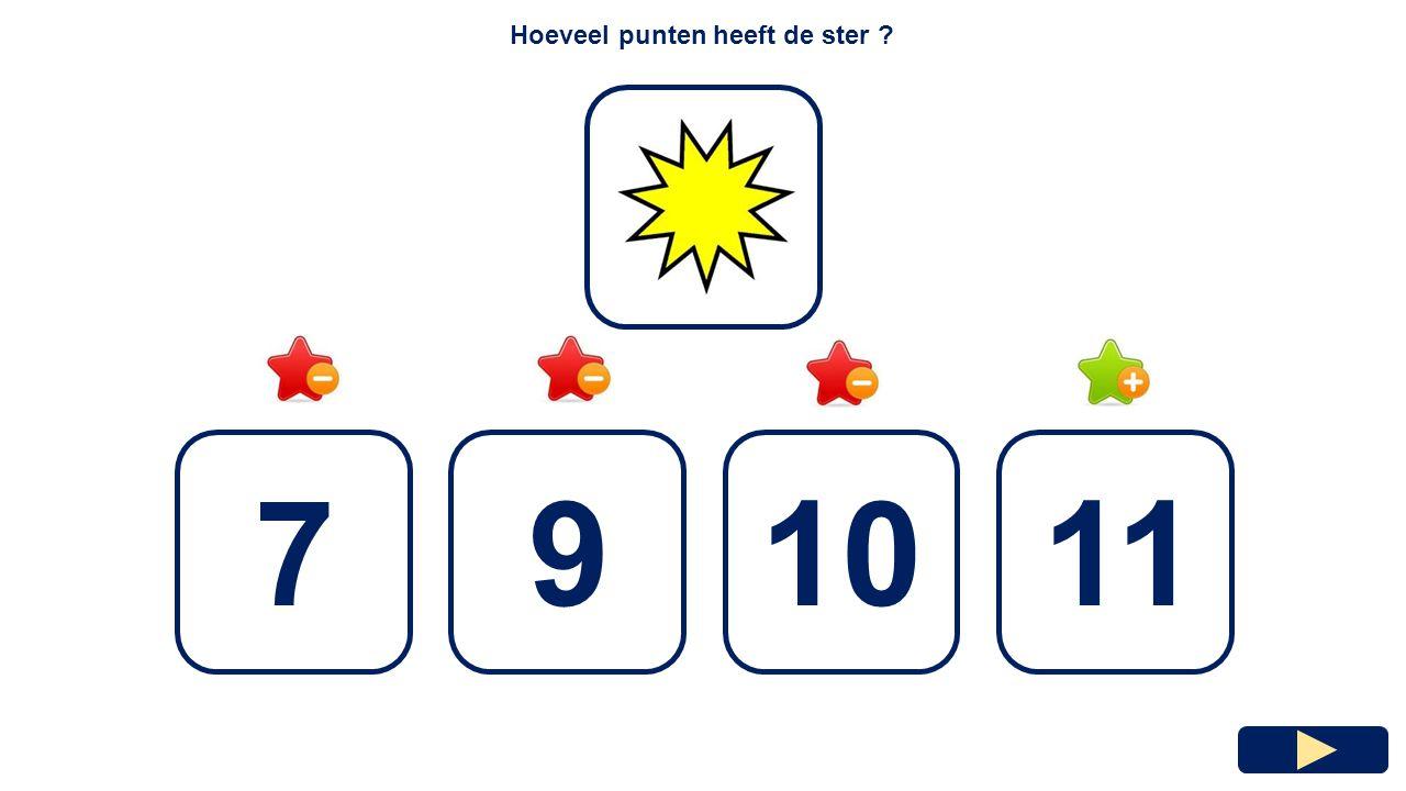 Hoeveel punten heeft de ster ? 5978