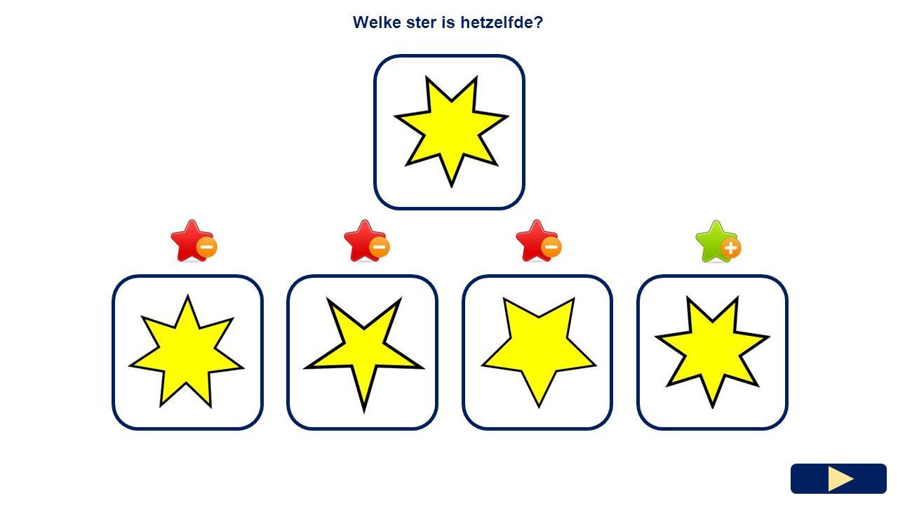 Hoeveel punten heeft de ster ? 5478