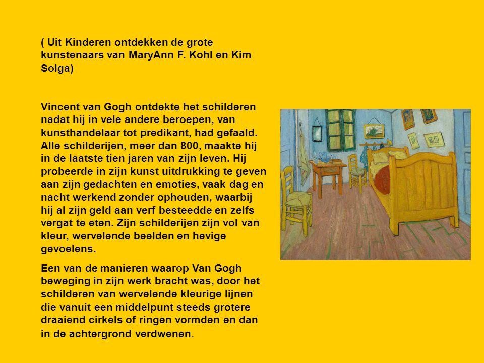 ( Uit Kinderen ontdekken de grote kunstenaars van MaryAnn F.