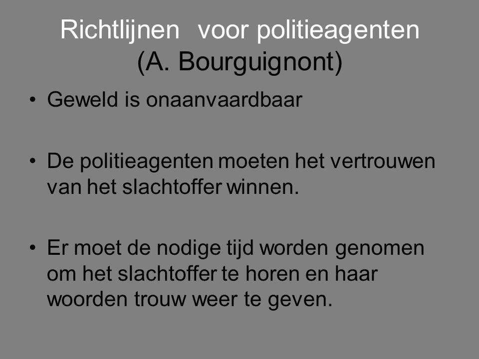 Richtlijnen voor politieagenten (A.