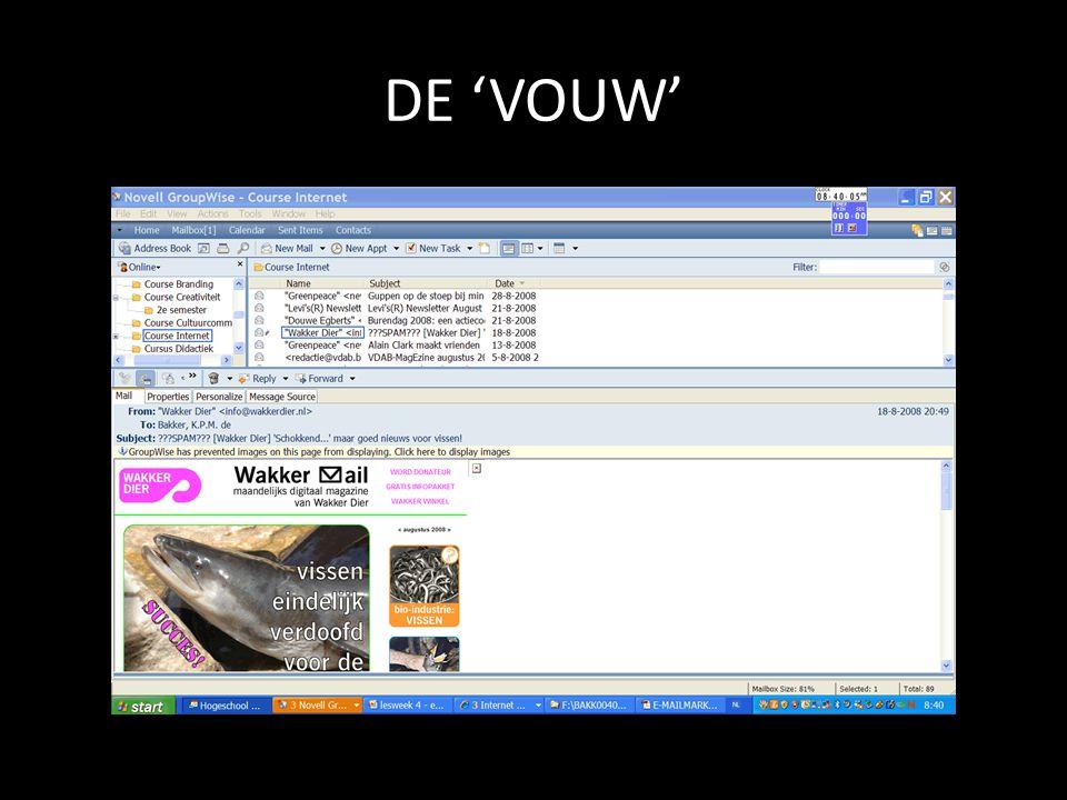 DE 'VOUW'