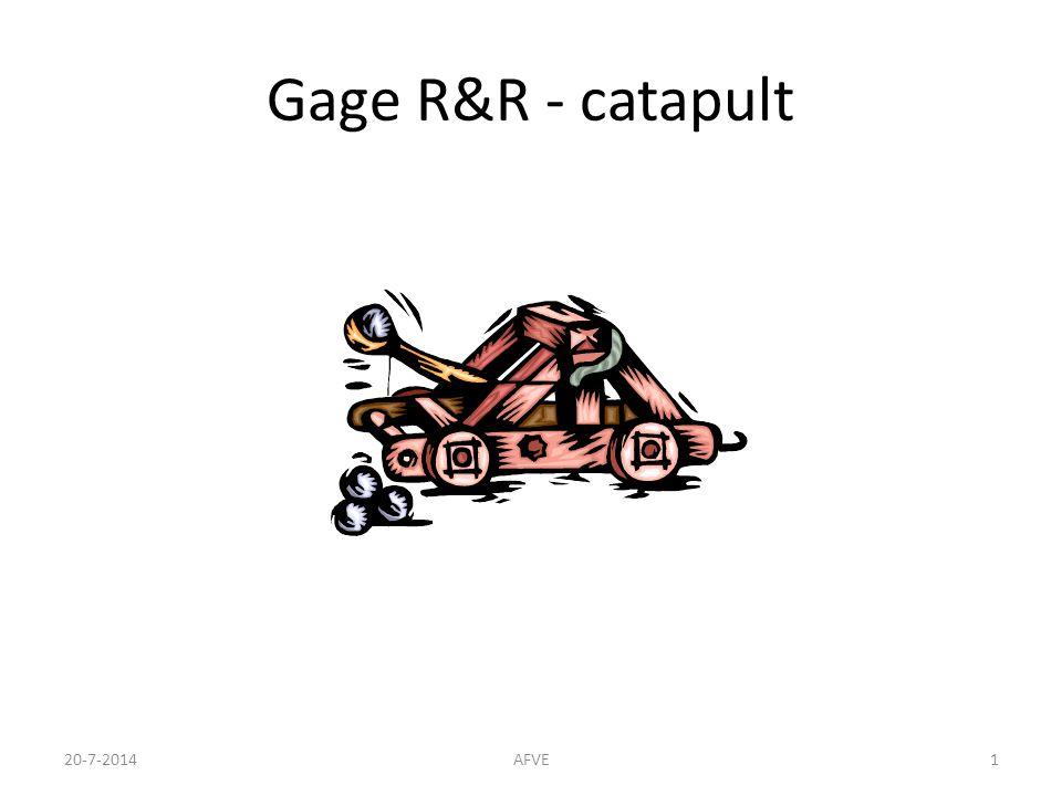 Gage R&R - catapult 20-7-2014AFVE1