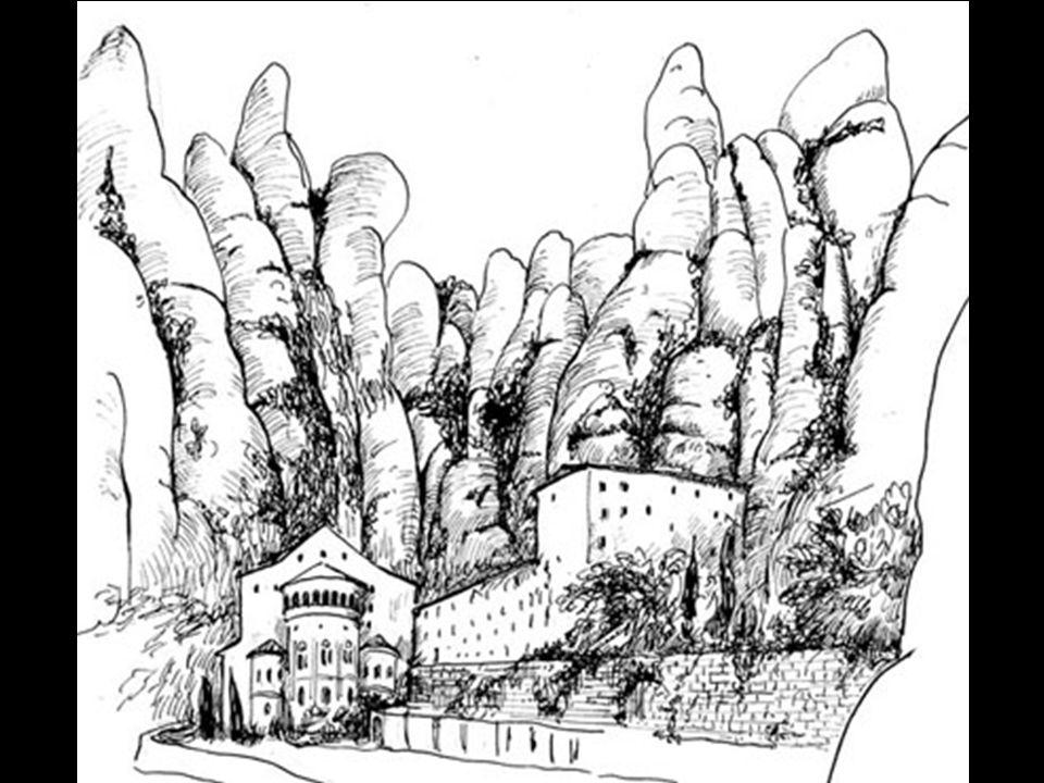 De abdij Montserrat was al sinds 888 een kapel.