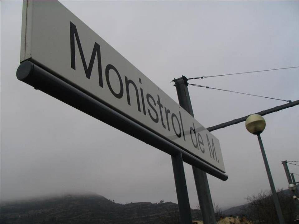 MONTSERRAT ligt op een hoogte van 725 m in de gemeente Monistrol de Montserrat in het massief van Monserrat op 60 kilometer van Barcelona.