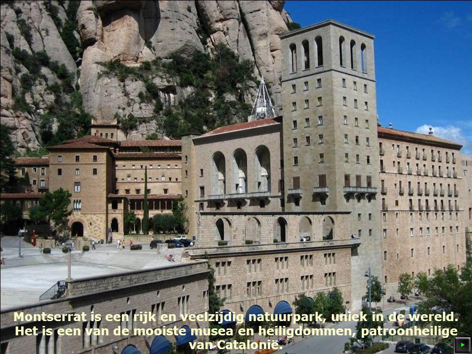 Montserrat is een rijk en veelzijdig natuurpark, uniek in de wereld.