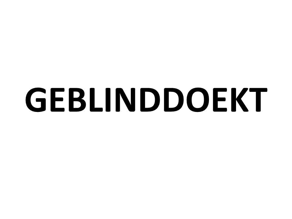 GEBLINDDOEKT