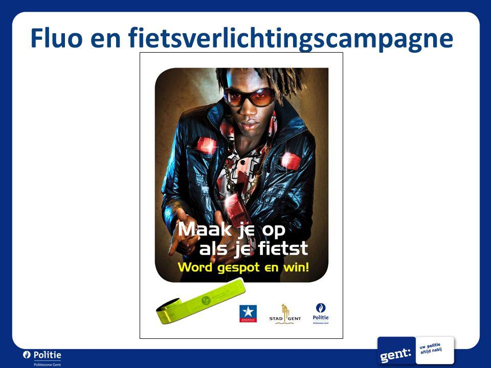 Fluo en fietsverlichtingscampagne