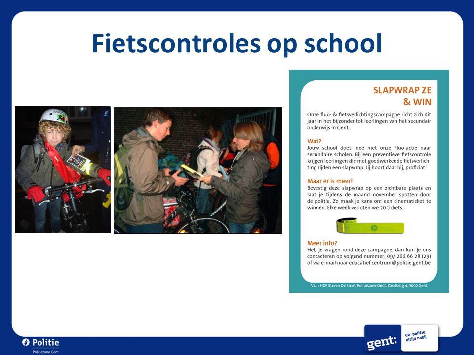 Fietscontroles op school