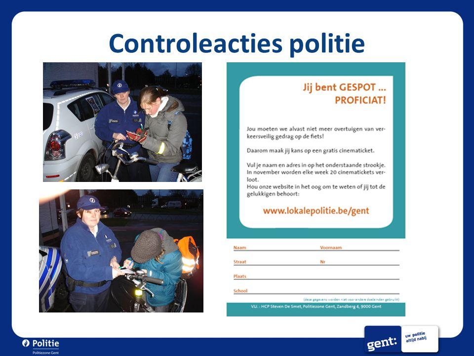 Controleacties politie