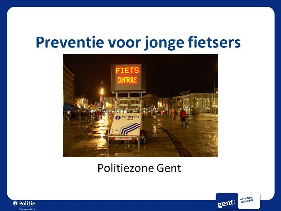 Preventie voor jonge fietsers Politiezone Gent